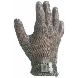Luva de Malha de Aço 5 Dedos