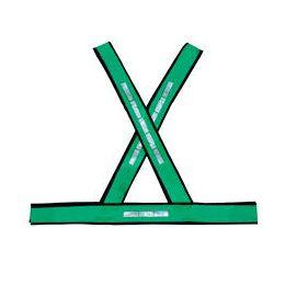 Colete Refletivo em X Verde
