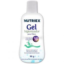 Alcool em Gel Antisséptico 90 Ml - Nutriex