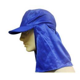 Touca em brim Azul Tipo Árabe com Aba