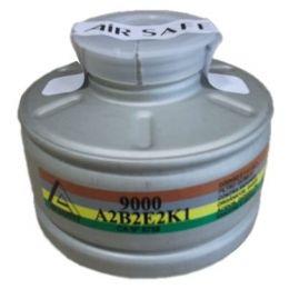 Cartucho queixo 9000 ABEk P2 ( Gases + Poeira ) - Air Safety