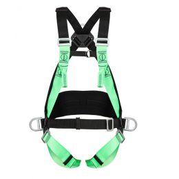 Cinturão Paraquedista/Abdominal com 3 Argolas Acolch. Lombar