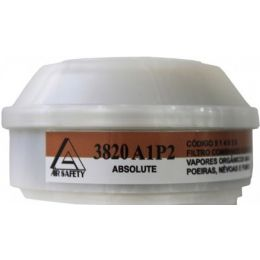 Cartucho 3820 para Facial Total Absolute VO/GA P2 - Air Safety