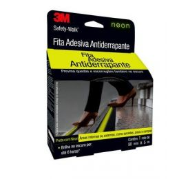 Fita Antiderrapante 3M Fosforecente Safety Walk c/ 5M
