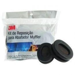 Kit de Reposição p/ Abafador Muffler 3M