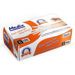 Luva de Látex Procedimentos com pó - Medix - G