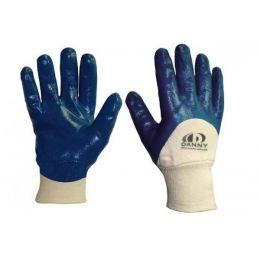 Luva Lightflex 3/4 com banho nitrílico azul Tam 10  - C.A 14957