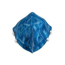 Máscara Descartável 9820 3M PFF2 Azul sem válvula