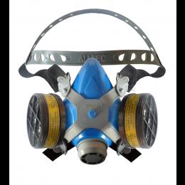 Respirador Semi-facial com 2 filtros VO/GA  - C.A 28001 - Destra